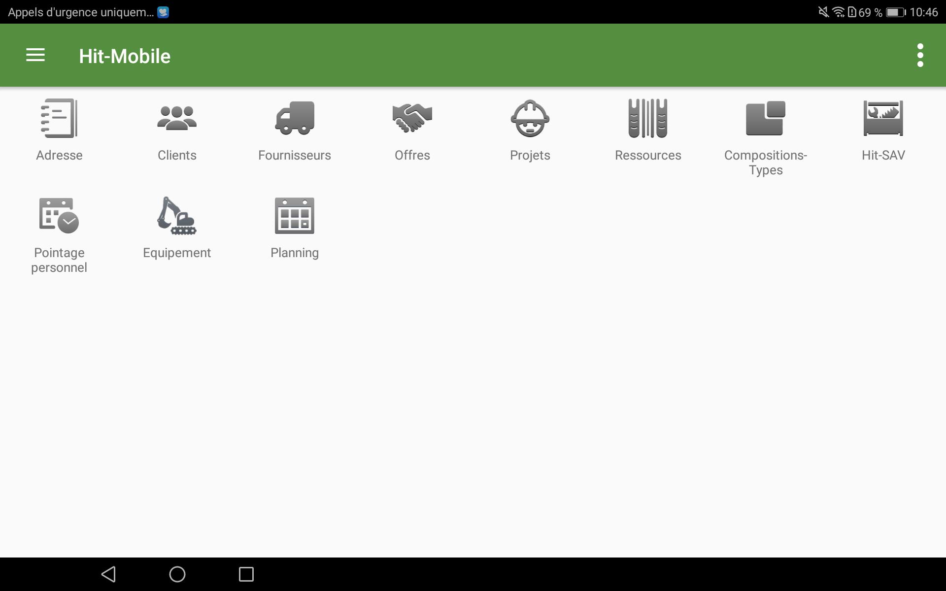 ERP-app Hit-Mobile